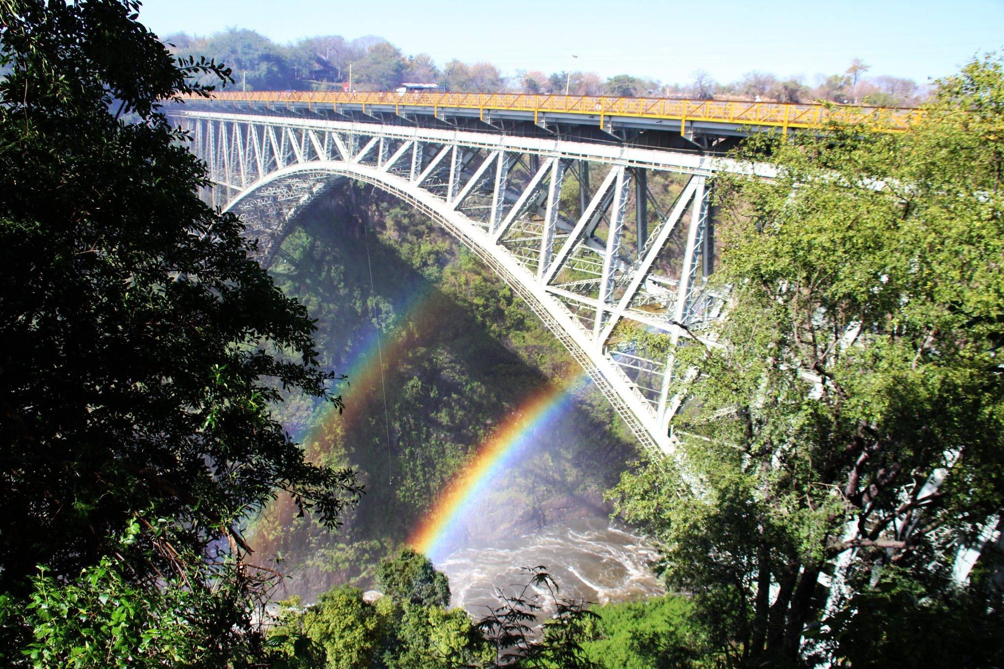 Victoria Falls in Simbabwe, Afrika