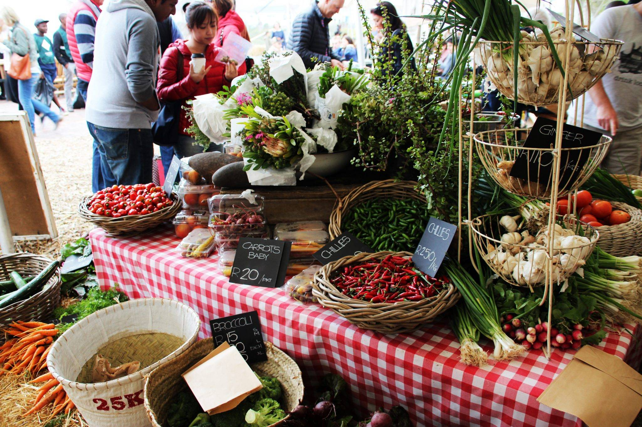 Farmers Market, V&A Waterfront, Cape Town, South Africa
