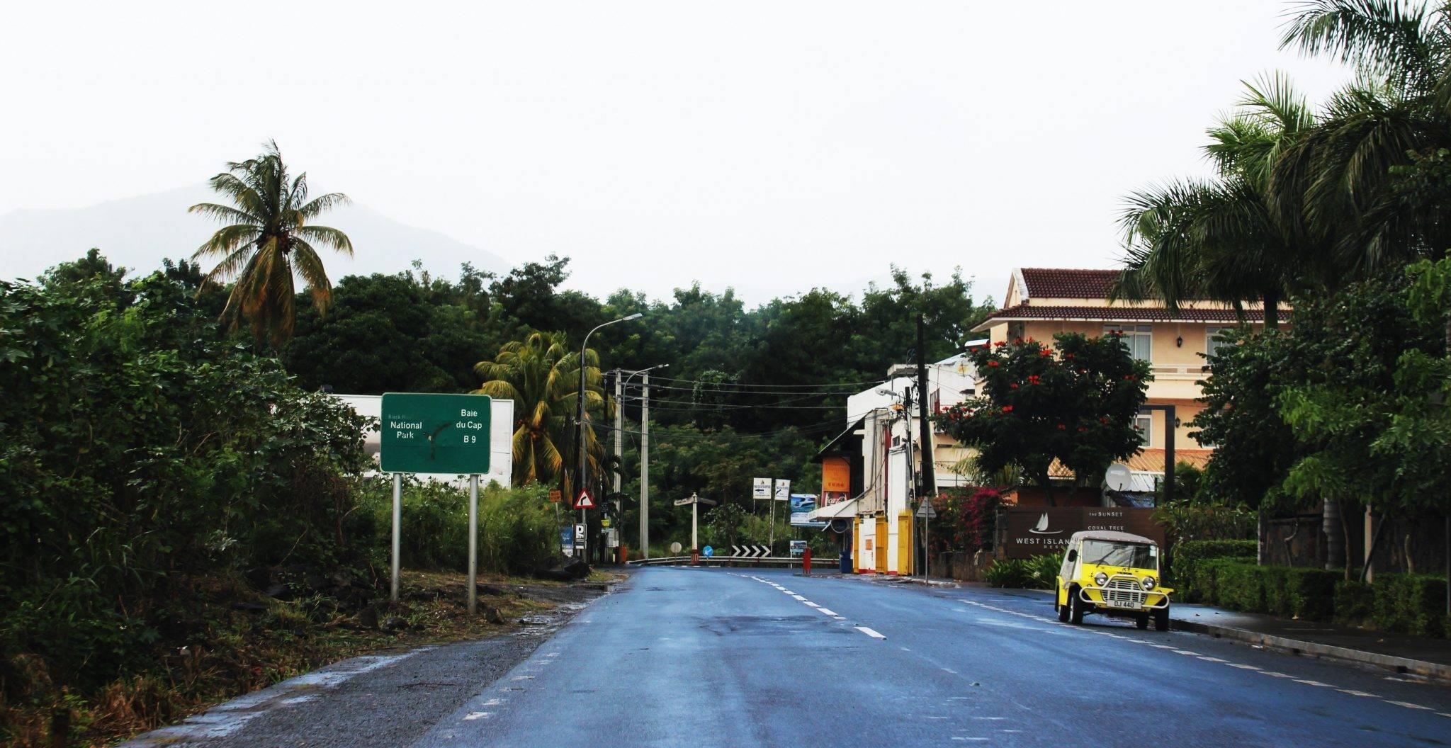 Autofahren im Mauritius