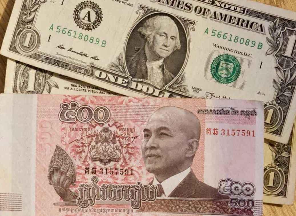Auslandswährung, Kambodscha