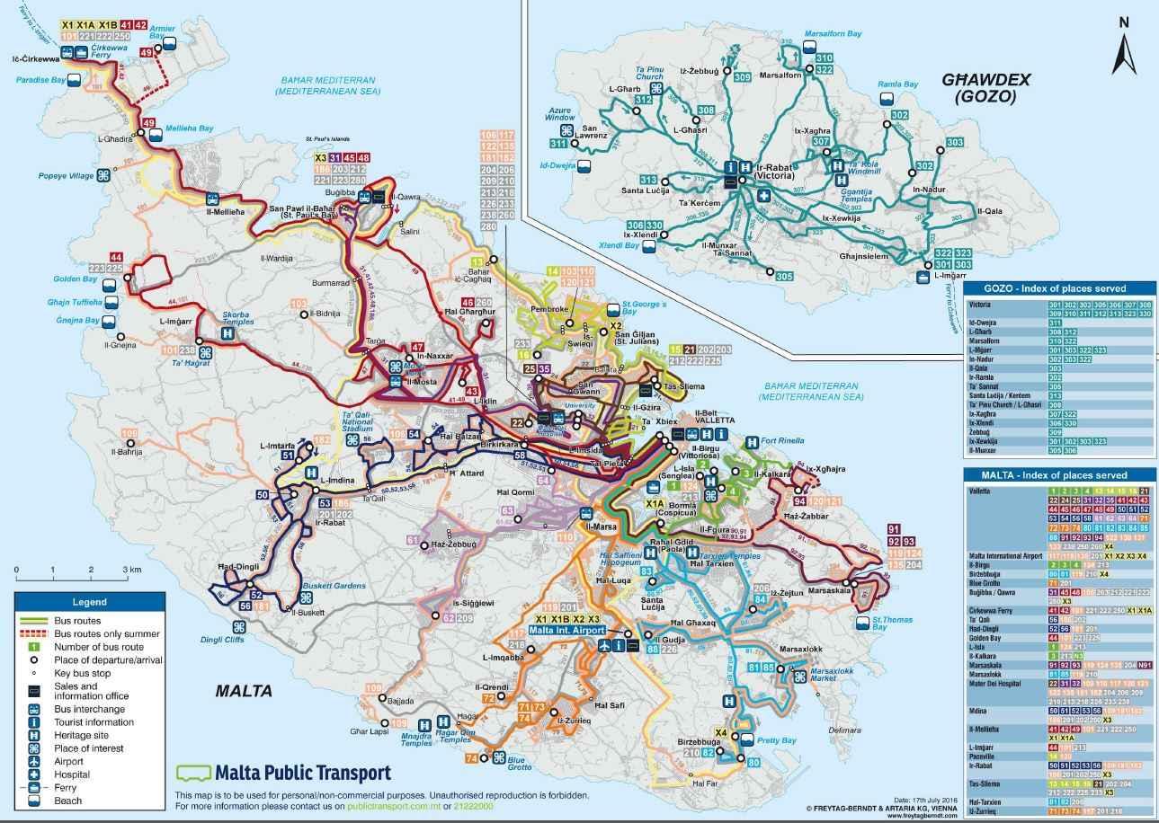 Öffentlicher Verkehr Malta