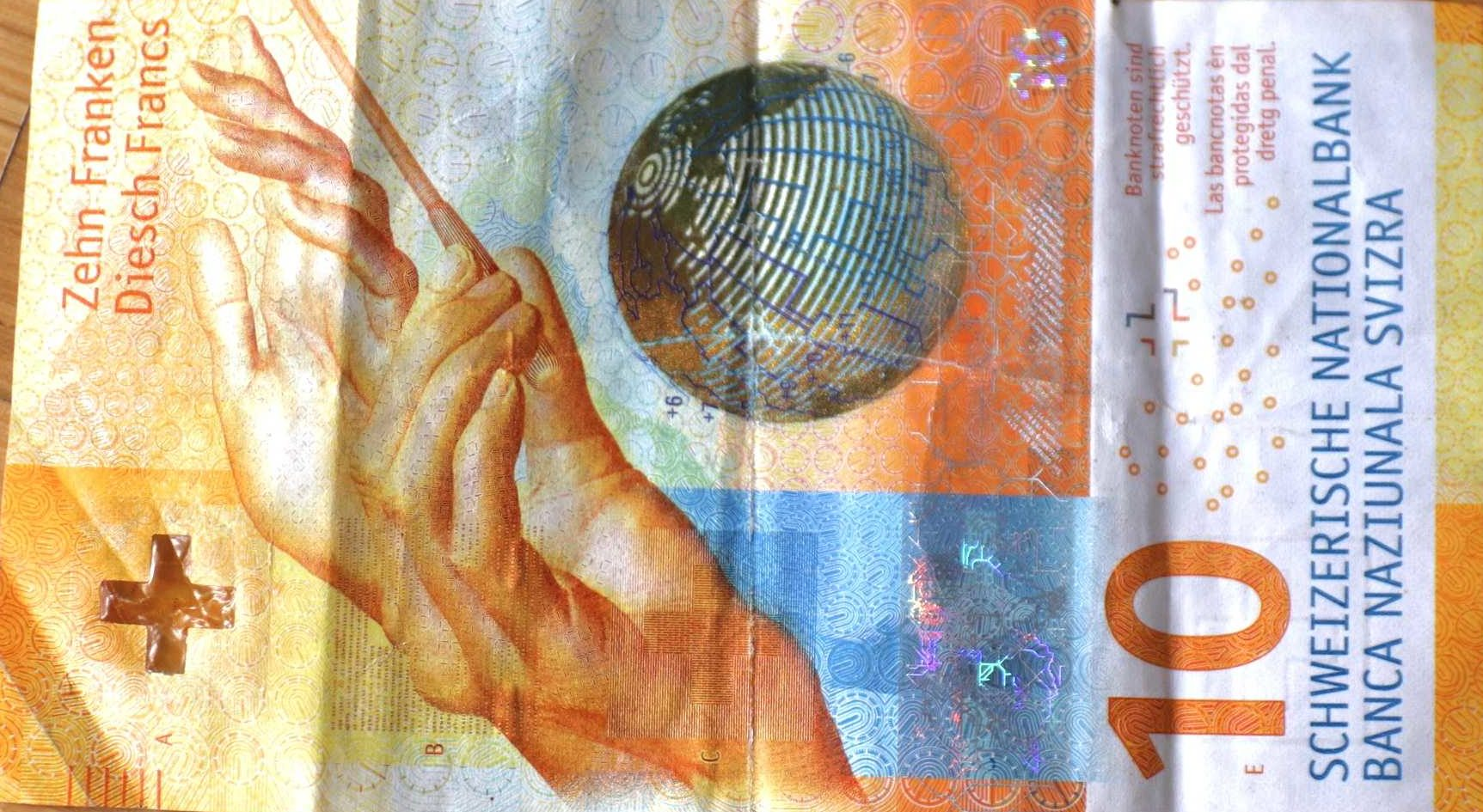 Schweizer Franken, Bezahlen in der Schweiz