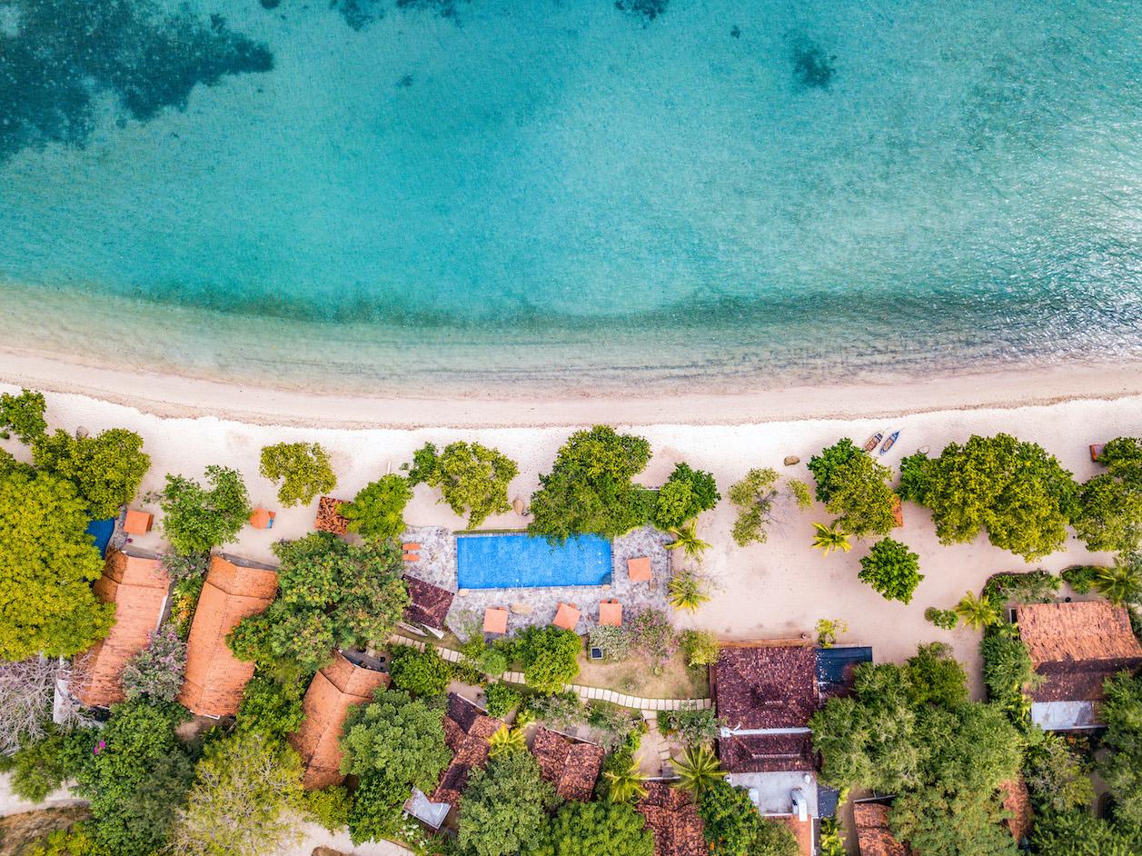 Beach Resort auf Flores