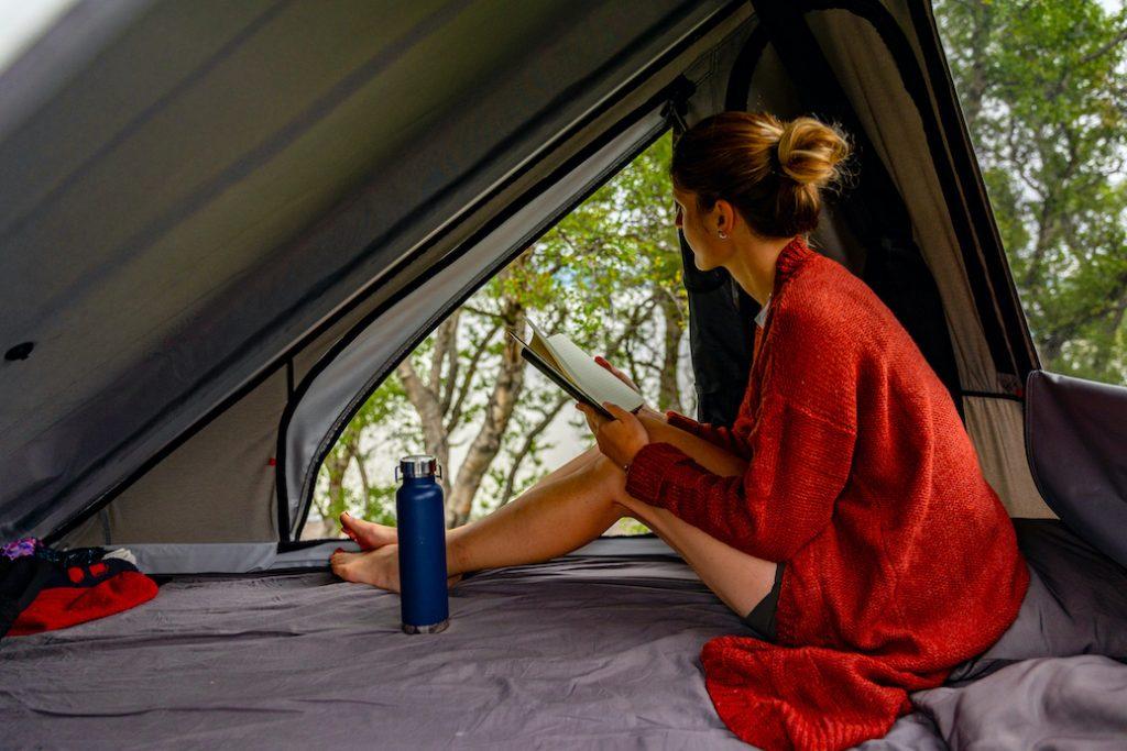 island camping dachzelt