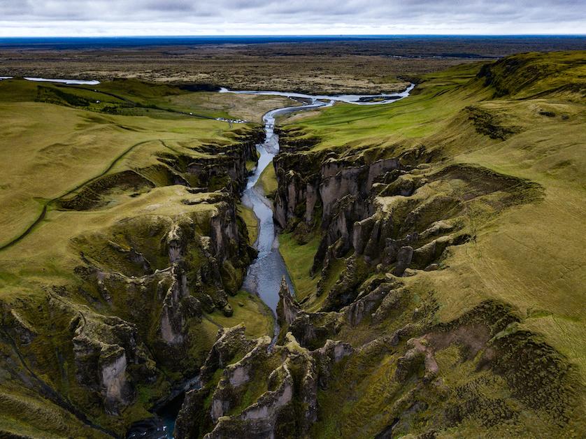 island Katla mögafoss Fjadrargljifur