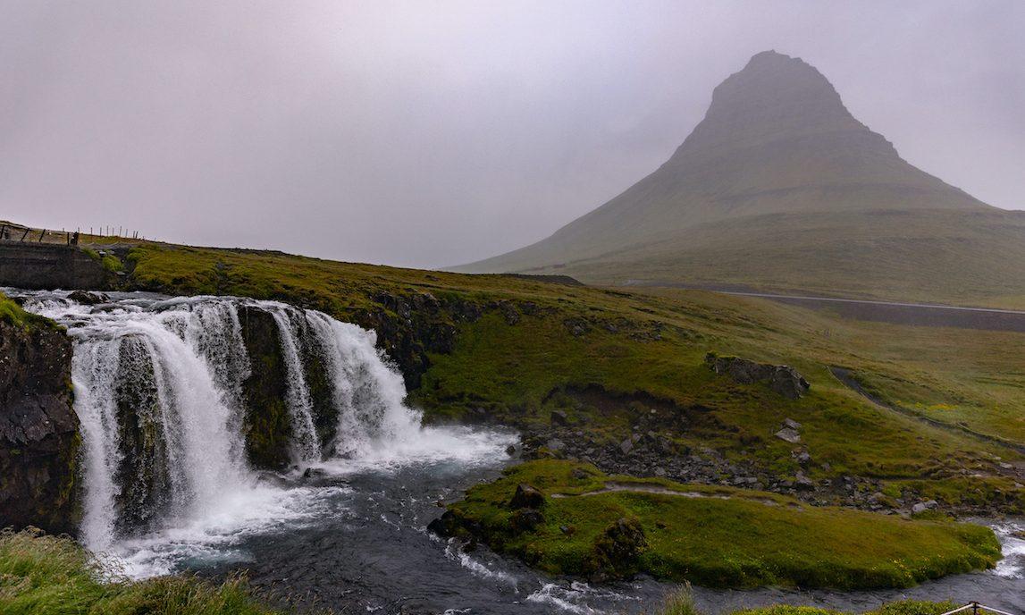 island kirkufellsfoss wasserfall